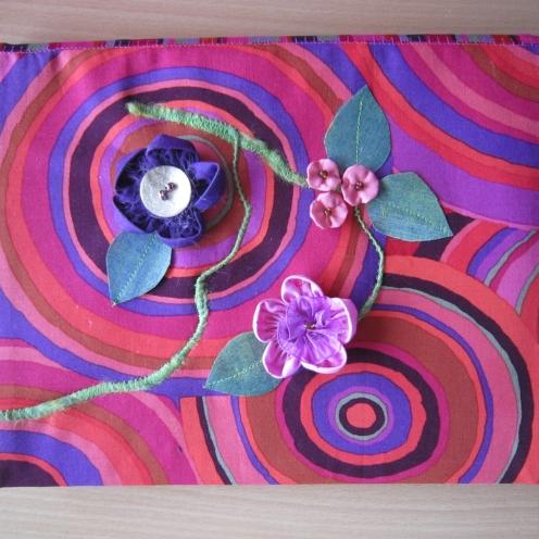Fabric Flowers & Leaves